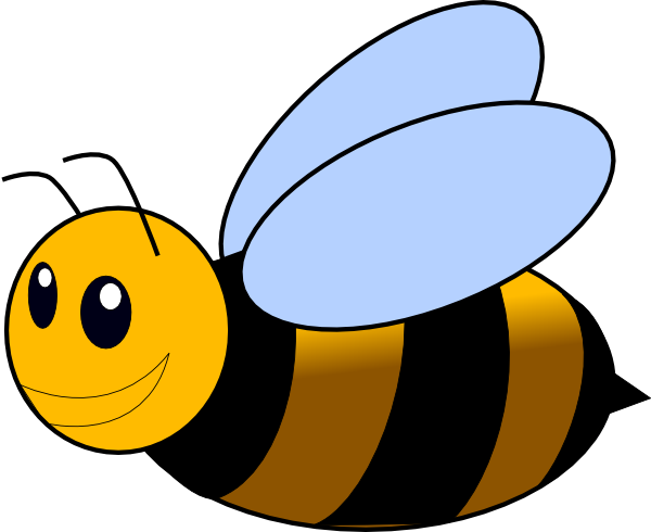 vector transparent stock Clip art bumble bee. Bumblebee clipart.