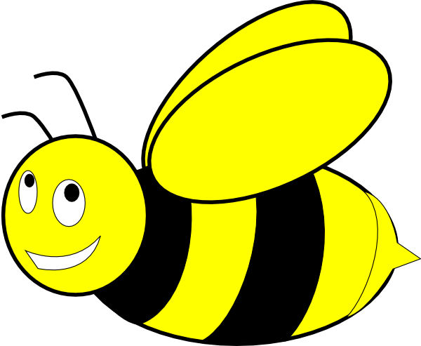 graphic free Black and yellow clip. Bumblebee clipart honey bee