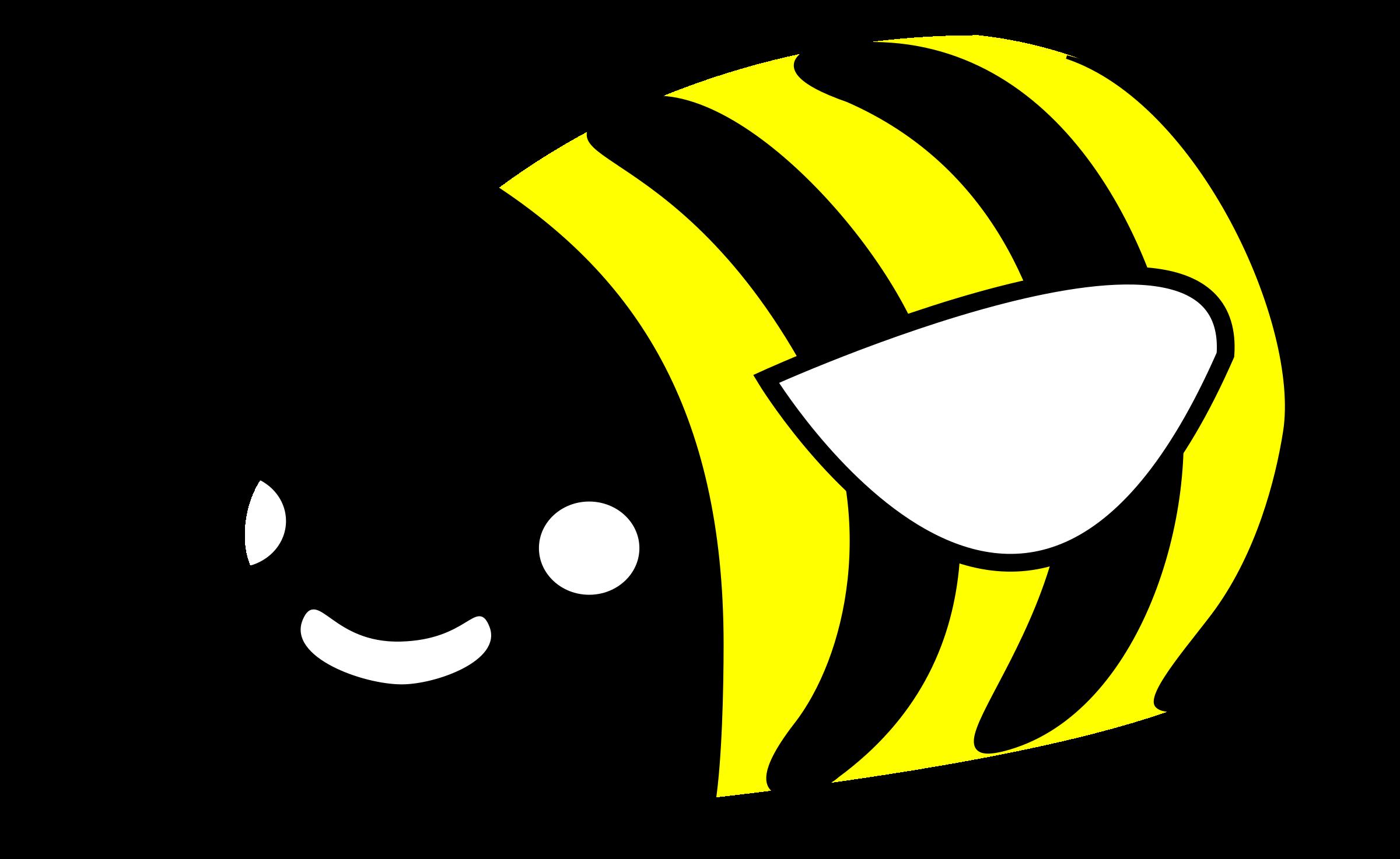 graphic download Bumblebee clipart kawaii. Cute bumble bee big.