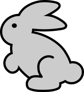 png black and white download Bunny clip art at. Bunnies clipart