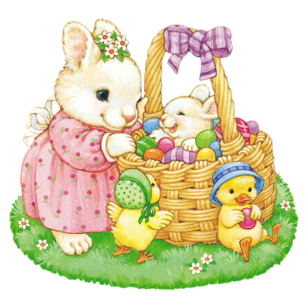 png transparent library Bunnies clipart. Easter wi teczne pinterest