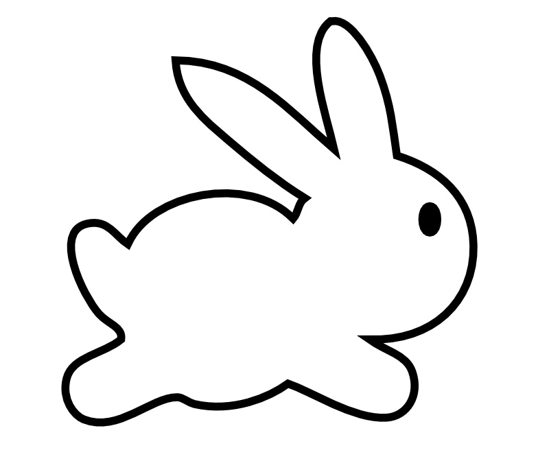 vector royalty free library Free bunny cliparts download. Bunnies clipart