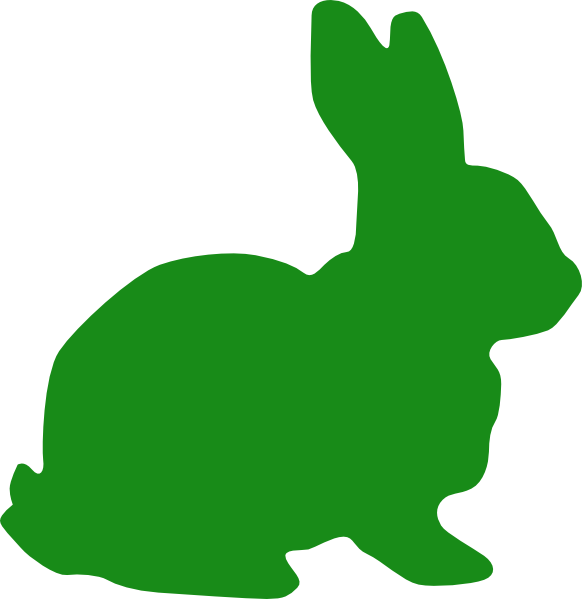 image library download Bunnies clipart hipster. Green bunny silhouette clip