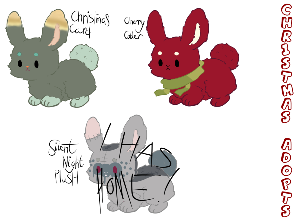 graphic transparent library Bunnies clipart home. Fluffy christmas need a
