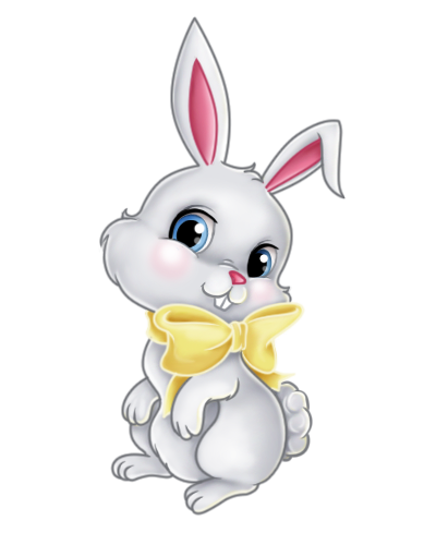 clip art stock Images of easter decoration. Bunnies clipart home