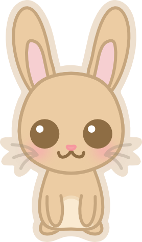 graphic free library Bunnies clipart kawaii. Dd bunny by amis