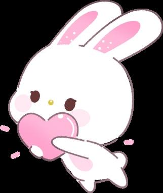 png free stock Bunny cute cutenessstickerremix. Bunnies clipart kawaii