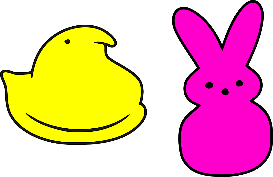 vector freeuse download Peeps clipart. Image result for chick