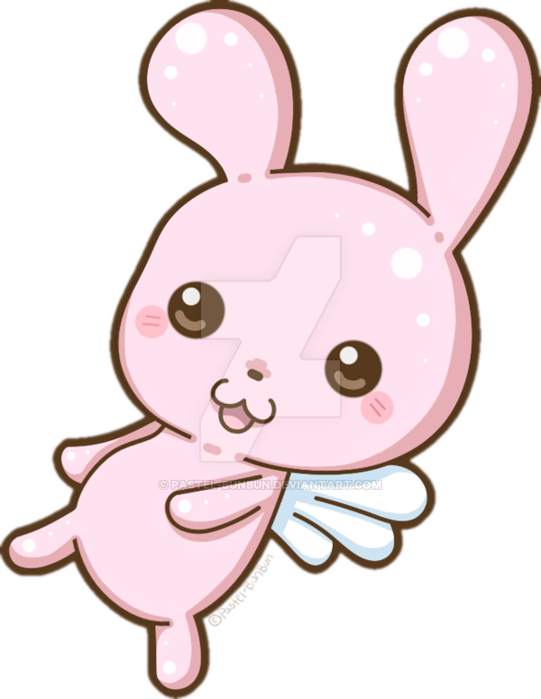 picture black and white Sugar the bunny by. Bunnies clipart pastel