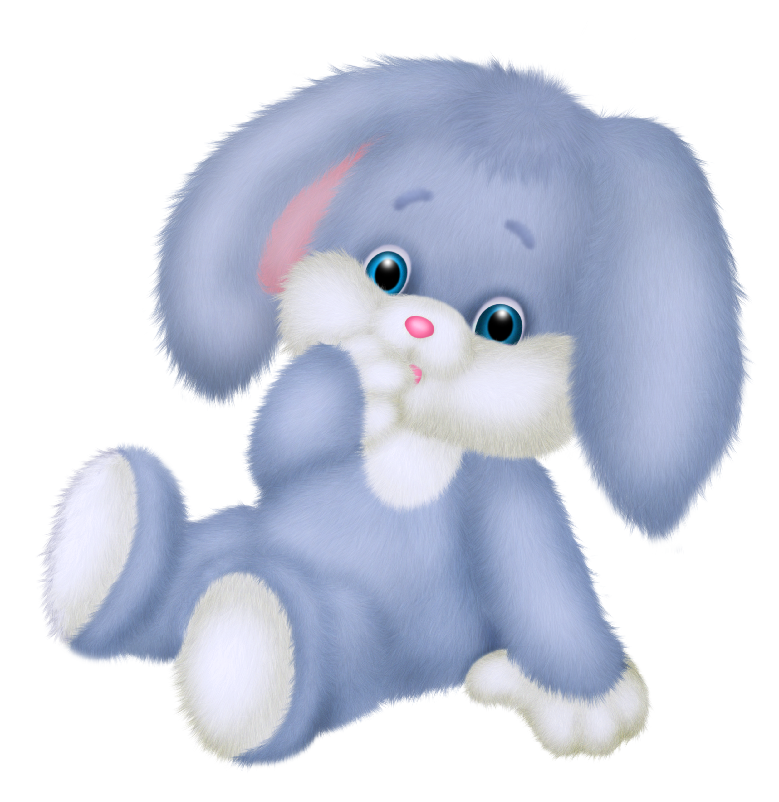 banner library Bunnies clipart toy. Cute blue bunny png
