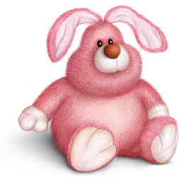 picture free library Bunnies clipart toy. Fat bunny icon png
