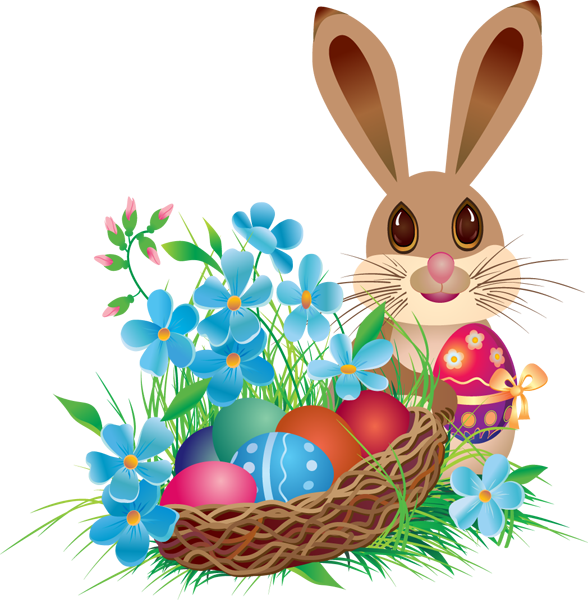 png library library Easter holding free on. Bunny clipart basket.