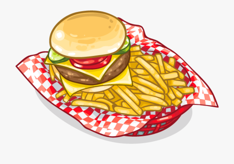 png free library Scfrenchfries frenchfries fastfood hamburger. Cheeseburger and fries clipart.
