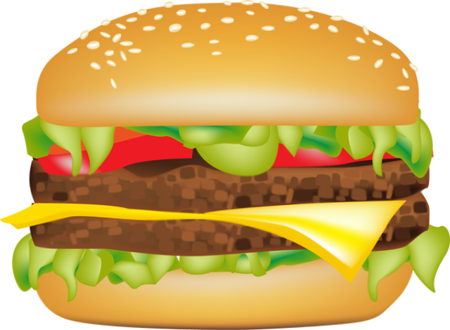 image free download Burger clipart. Veggie humburger free on