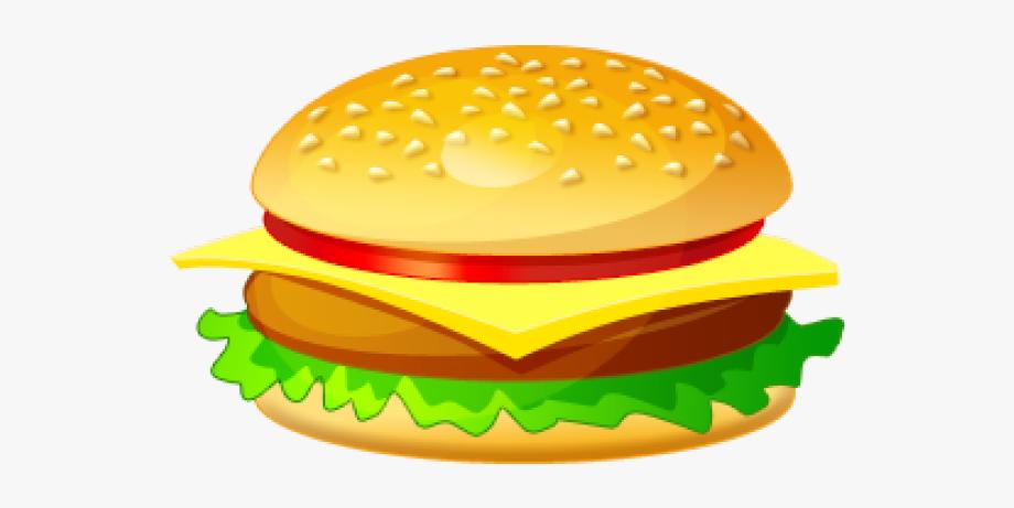 clipart royalty free Veggie plain hamburger clip. Burger clipart.