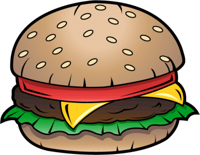 clip royalty free library Hamburger clipart cute. Extremely creative burger clipartaz