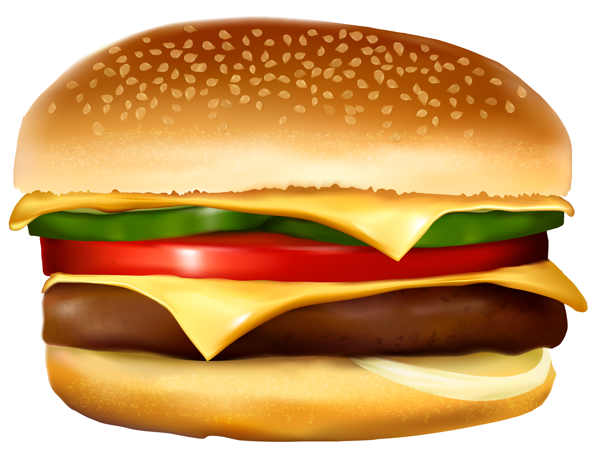vector royalty free Burger PNG Vector Clipart