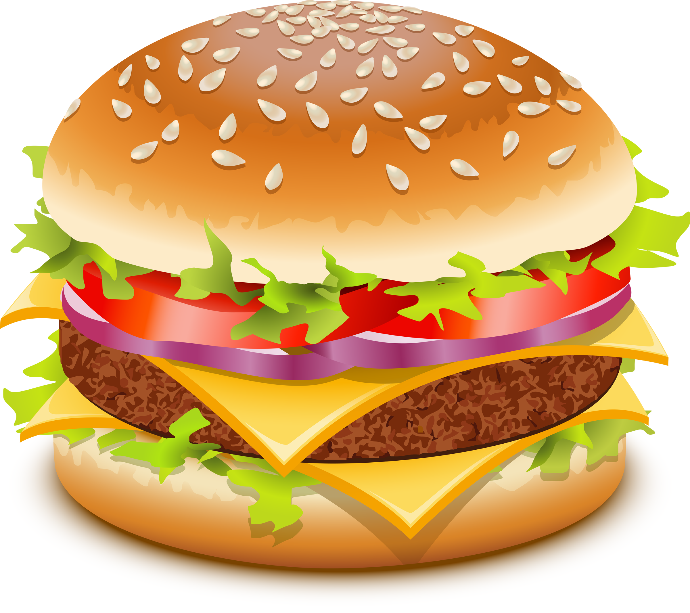 clip art transparent stock Hamburger clipart. Beef burger free on.