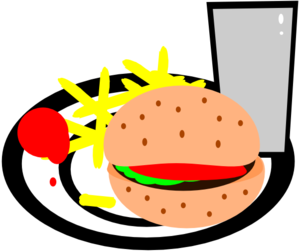 clip library download And fries clip art. Burger clipart burger chip.