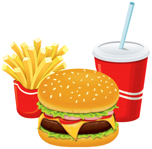 vector black and white Pin by Courtney Patterson on fast food clip art