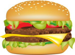 svg library stock Burger clipart burger chip. My first the allen.