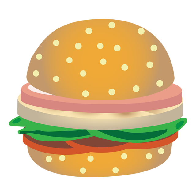 graphic freeuse Realistic png and psd. Vector burger