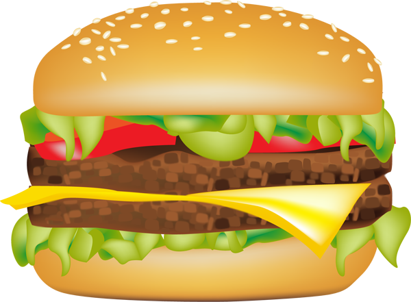 image library library Graphic design clip art. Burger clipart eye