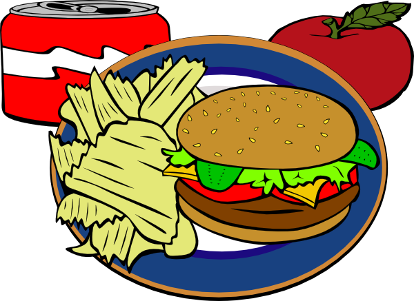 svg library download Chips clipart pop art. Fast food clip at.