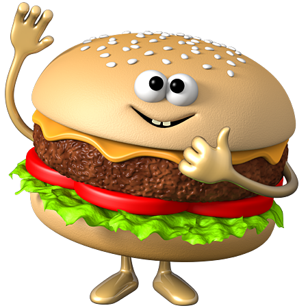 svg download  bc f d. Hamburger clipart cute
