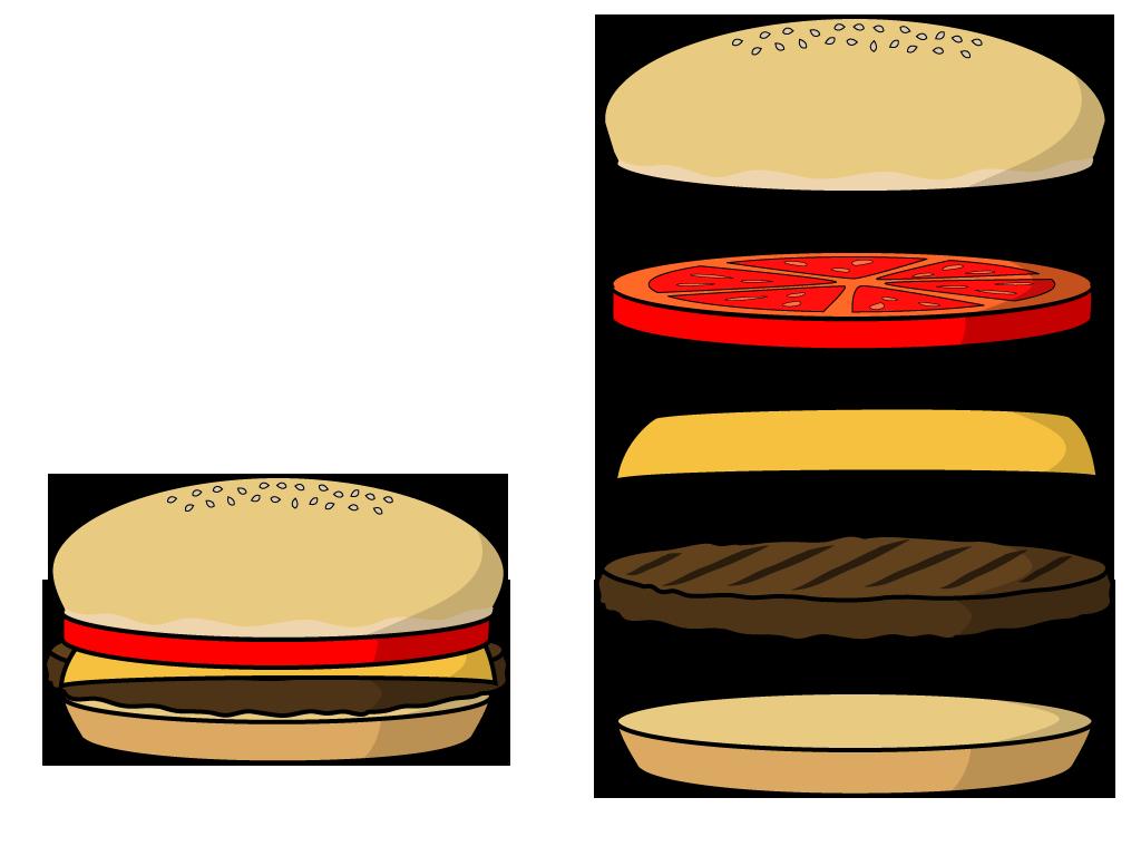 vector transparent stock Free hamburger cliparts download. Burger patty clipart