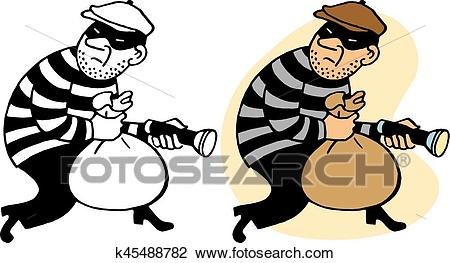 png free stock Burglar clipart. Station .