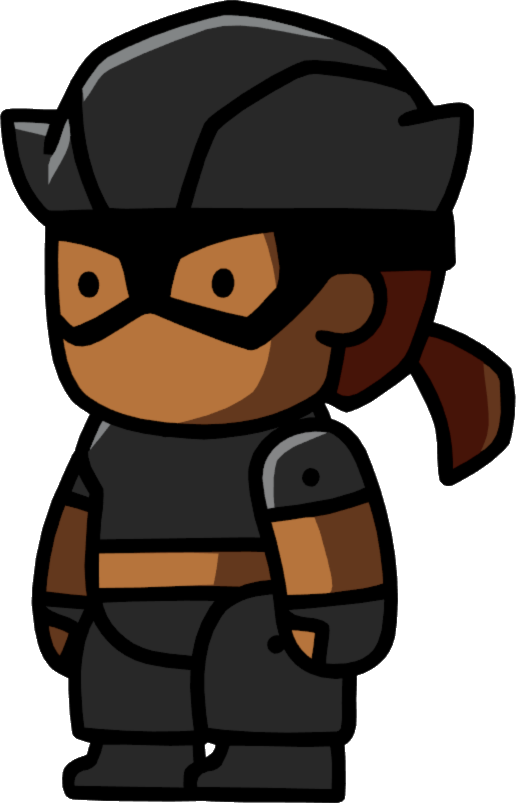 graphic transparent download Cat pictures scribblenauts wiki. Burglar clipart