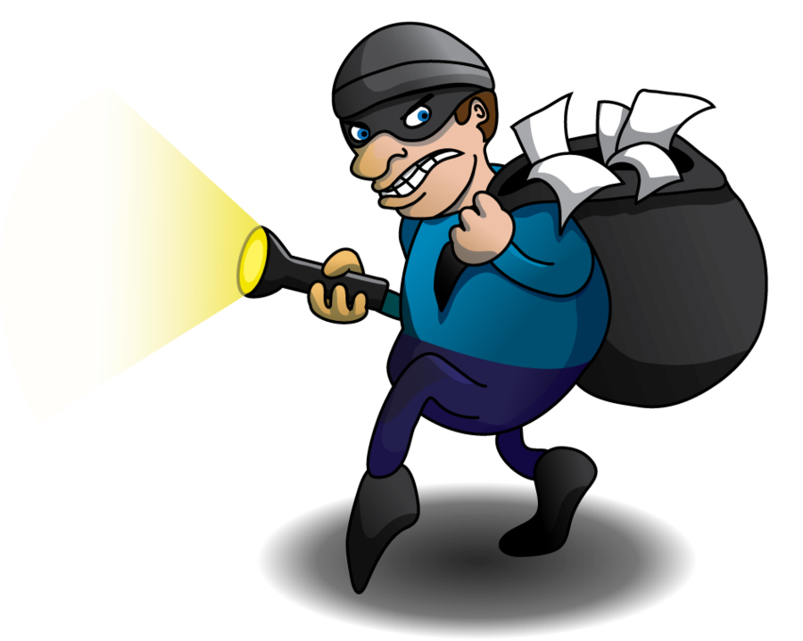png free download Thief by beachrain on. Burglar clipart theives.