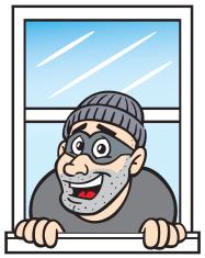 clip transparent download Burglar clipart window. Transparent free for .