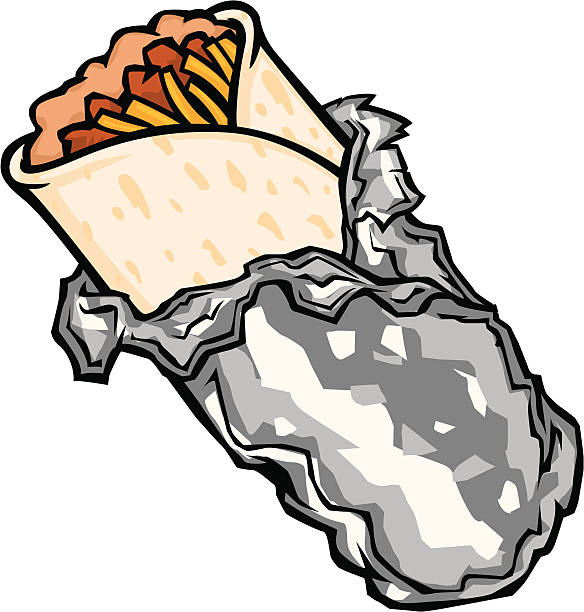graphic freeuse library Collection of free download. Burrito clipart.