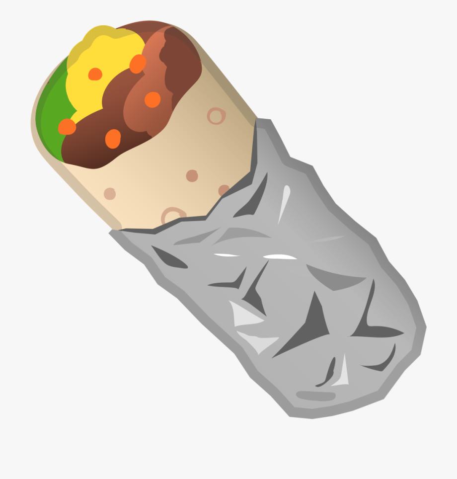 svg download Burrito clipart. Icon emoji free cliparts.