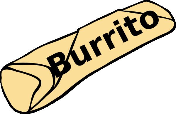 clip transparent stock Clip art at clker. Burrito clipart.