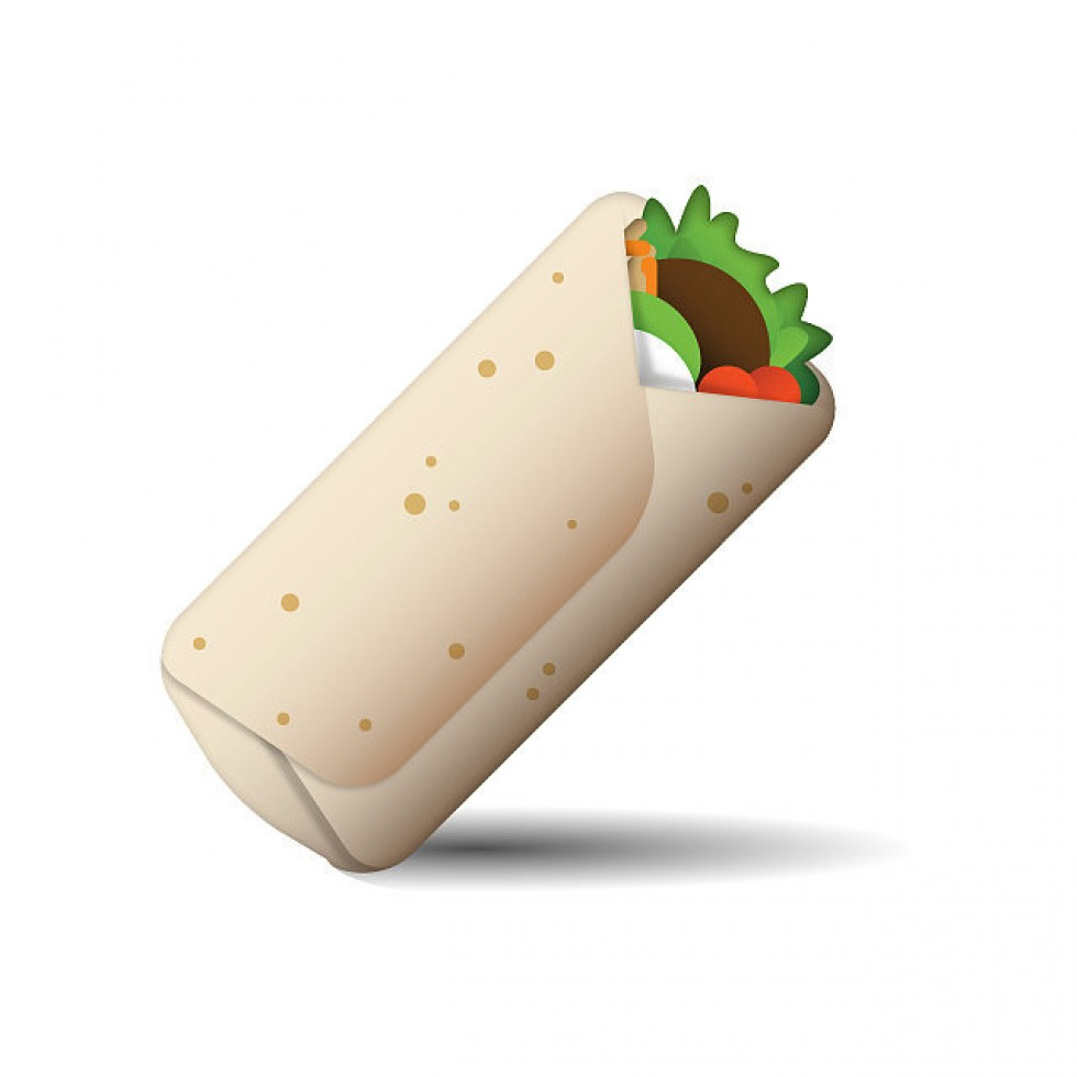 freeuse library Burrito clipart burito. The water footprint of