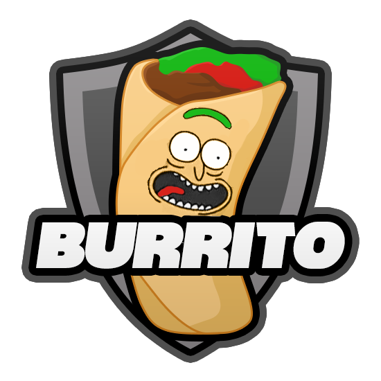 png black and white library Esports on twitter i. Burrito clipart burito