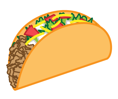 image free The top best blogs. Tacos clipart burito