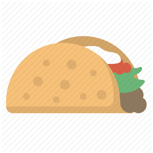 vector freeuse stock Food emoji by flaticons. Burrito vector.