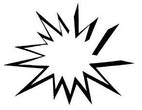 black and white stock Burst clipart. Free cliparts download clip.