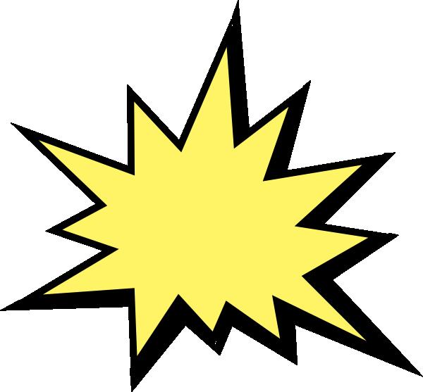 clipart Starburst Clipart superhero
