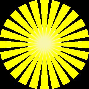 jpg royalty free stock Sun rays star burst. Sunray vector clipart