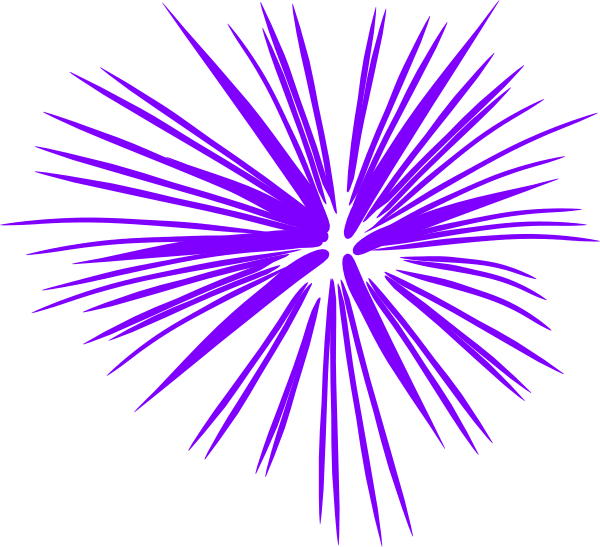 clipart transparent library Purple Fireworks Clip Art at Clker