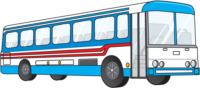 banner free stock Cliparts . Bus clipart