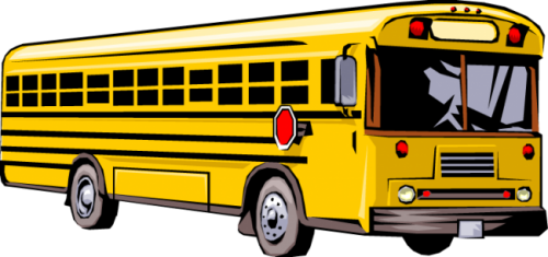 clipart royalty free stock Bus clipart. Free clip art school