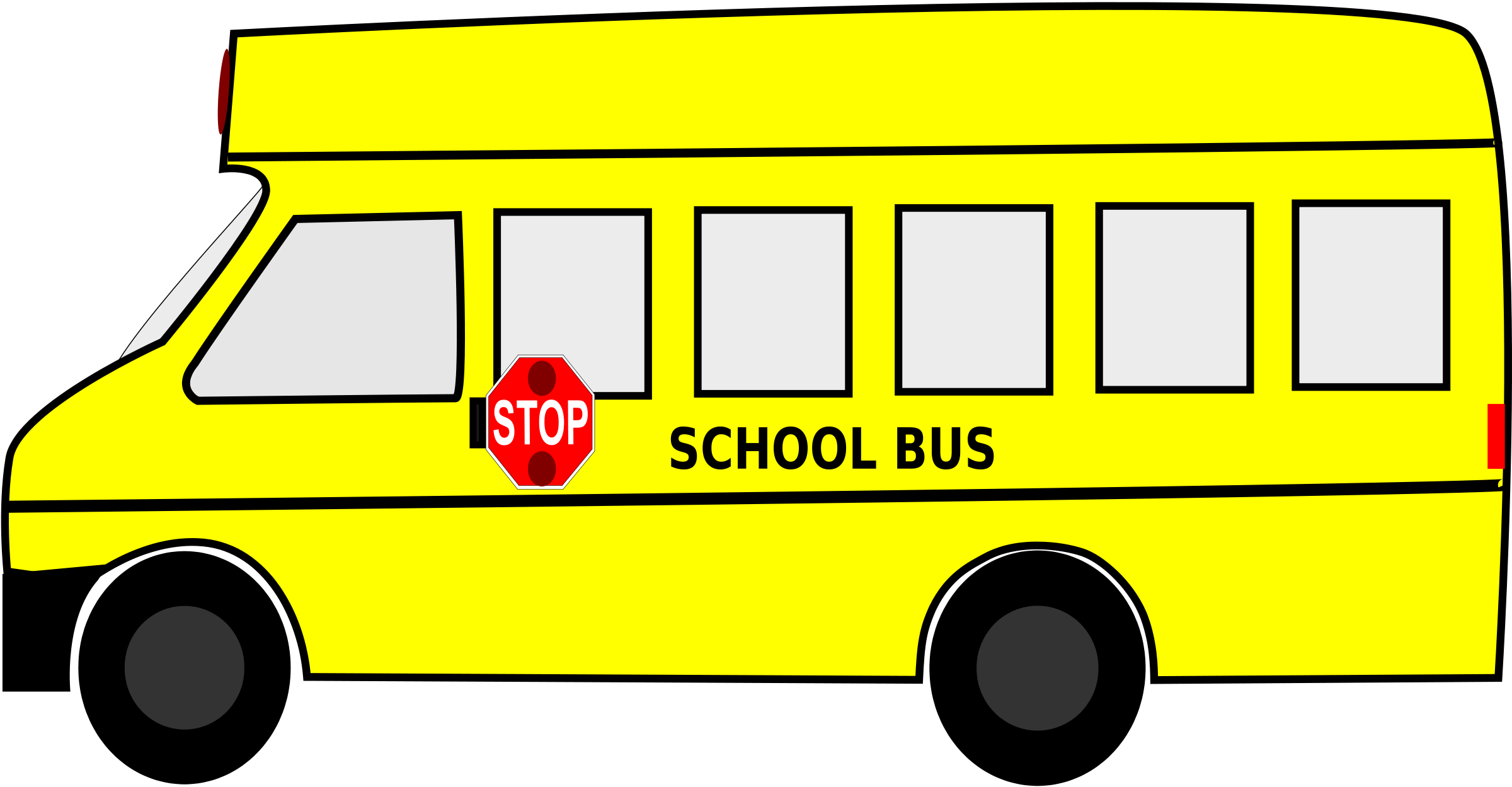 clip transparent stock . Bus clipart