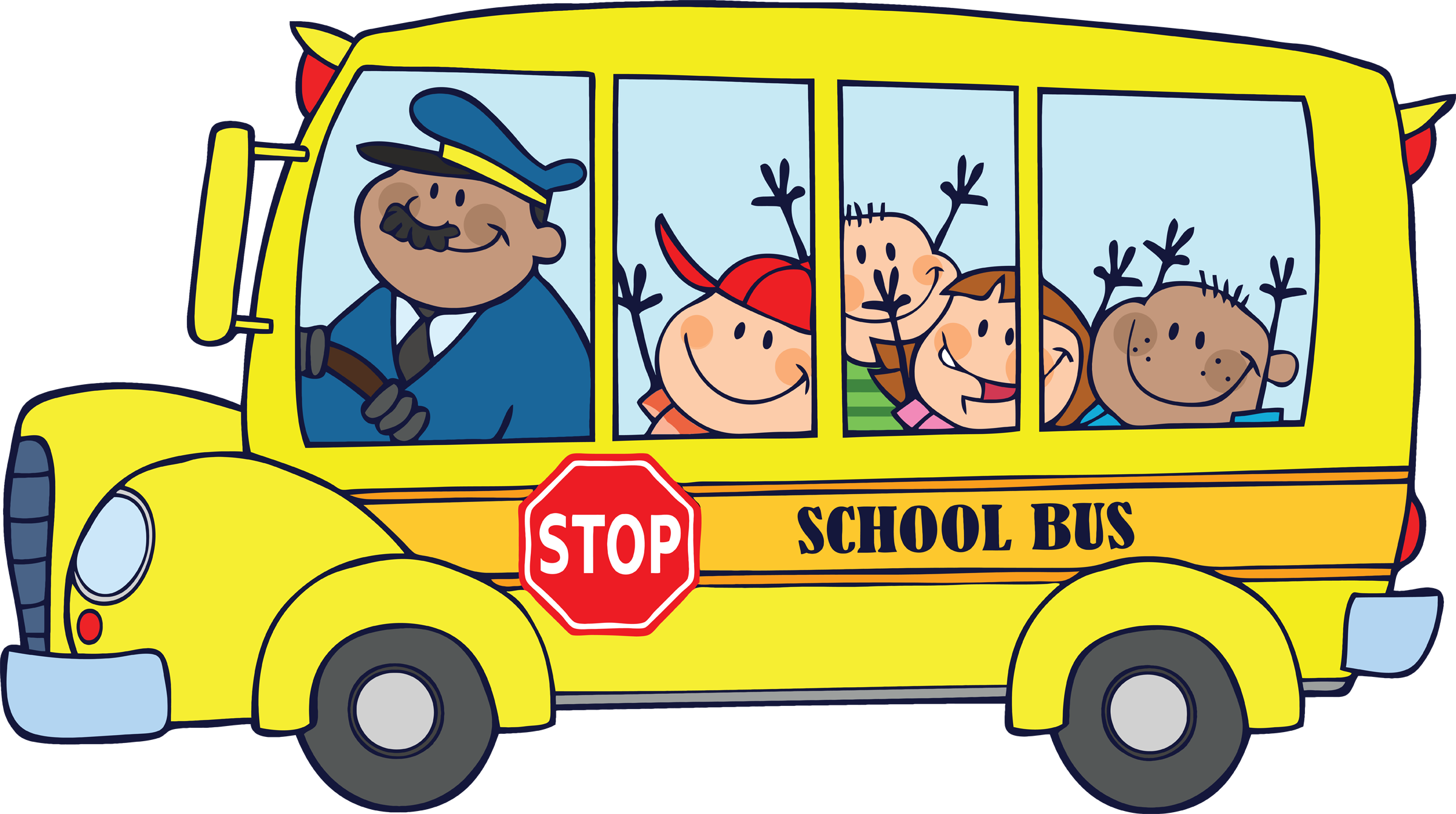 jpg library library School bus quotes panda. Driver clipart