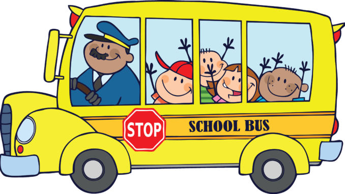 vector royalty free download Free school black and. Bus clipart scool.